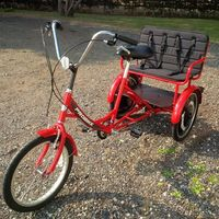 Kiddie carry hire trike