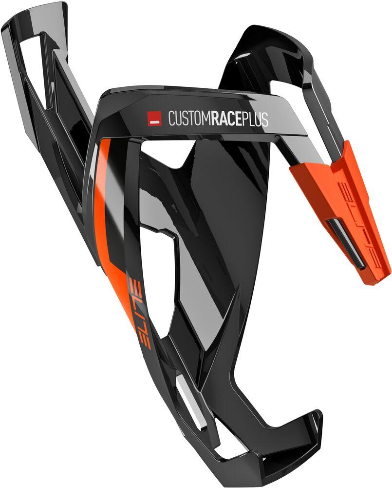 Orange Elite Custom Race Plus Resin Bicycle Cycle Bike Cage Black