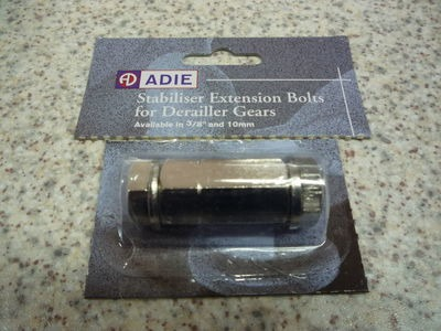 ADIE stabliser extension bolt for derailler gears