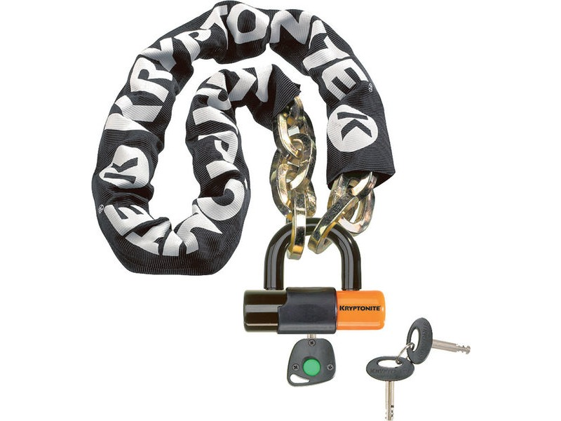 KRYPTONITE New York Noose (12 mm/100 cm) - With Ev Series 4 Disc Lock 14mm Sold Secure Gold click to zoom image
