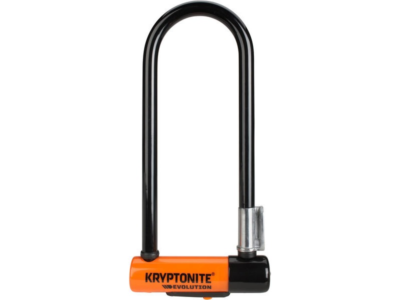 KRYPTONITE Evolution Mini-9 - With Flexframe U Bracket Sold Secure Gold click to zoom image