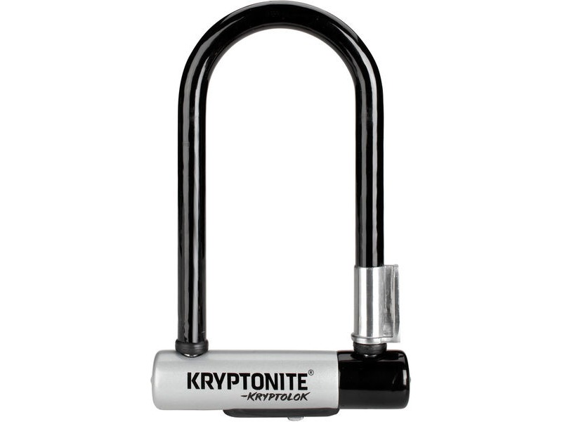 KRYPTONITE Kryptolok Mini U-Lock With Flexframe Bracket Sold Secure Gold click to zoom image