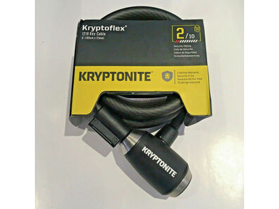 KRYPTONITE Kryptoflex 1218 Key Cable (12 mm X 180 cm) click to zoom image