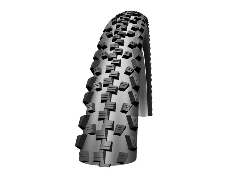 SCHWALBE Black Jack 20 x 1.90 Active Wired Kevlar Guard SBC Black- Skin 450g (47-406) click to zoom image
