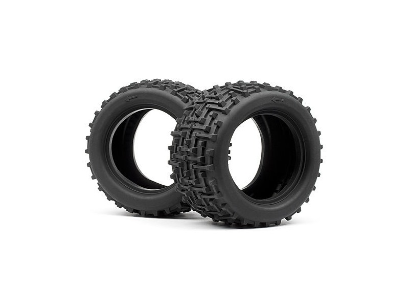 HPI RACING Bullet Mt Ammunition Tyres (2Pcs) - 101308 click to zoom image