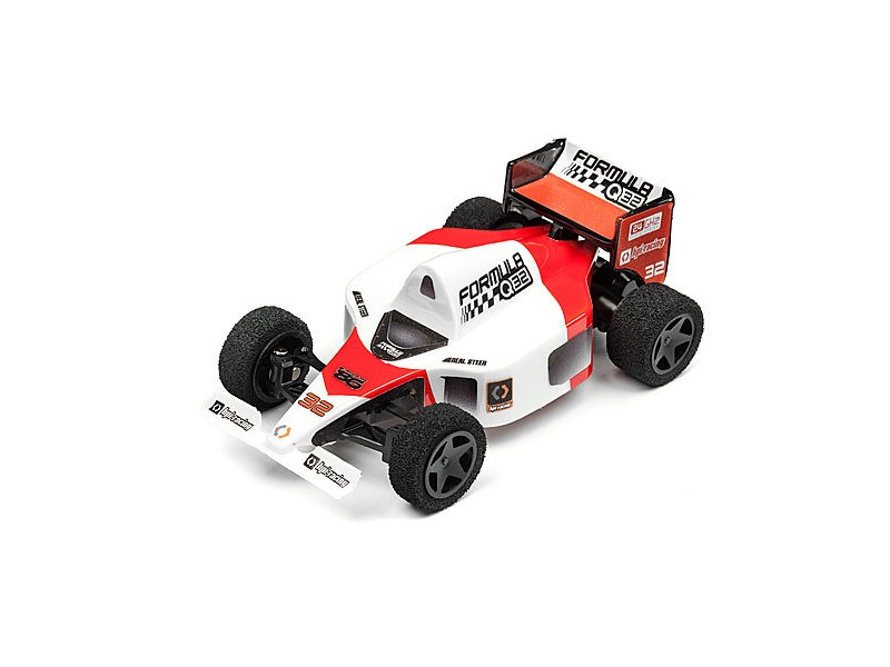 HPI RACING Formula Q32 Red Remote Control Racing Car click to zoom image