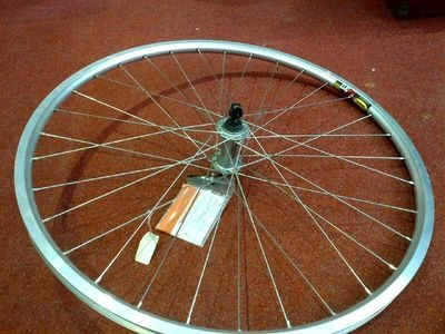 M:WHEEL 26in Deore / Mavic XM317 Front Wheel