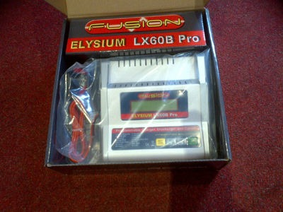 "FUSION LX60B Pro Elysium AC/DC Charger Lipo, Nicad, NiMH"" click to zoom image"
