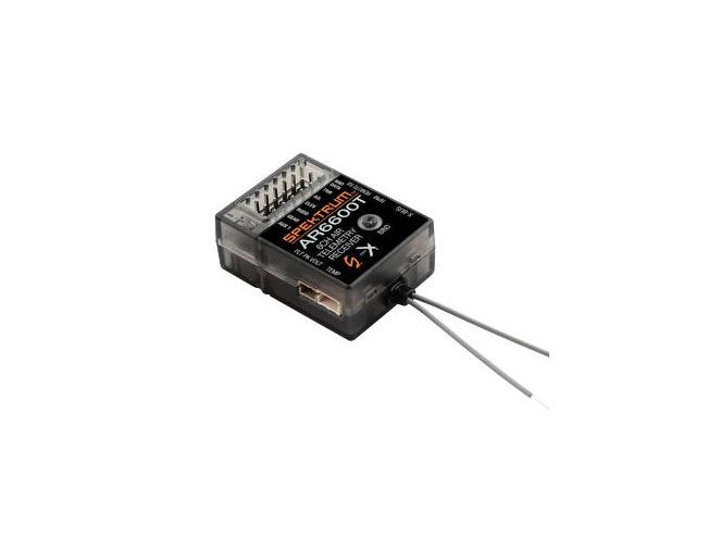 SPEKTRUM DX6 G3 6-CH DSMX Transmitter w/AR6600T RX (Mode 2) Set