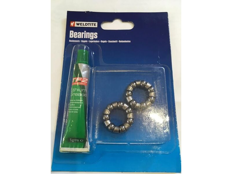 "WELDTITE 1/4"" Rear Hub Bearing & Grease click to zoom image"