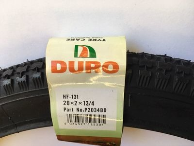 "DURO Classic Trade Butcher Bike tyre 20 x 2 x 1-3/4"" (54-400)"