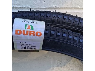 "650 x 50c DURO Classic Trade Butcher Bike tyre 26 x 2 x 1-3//4/"""