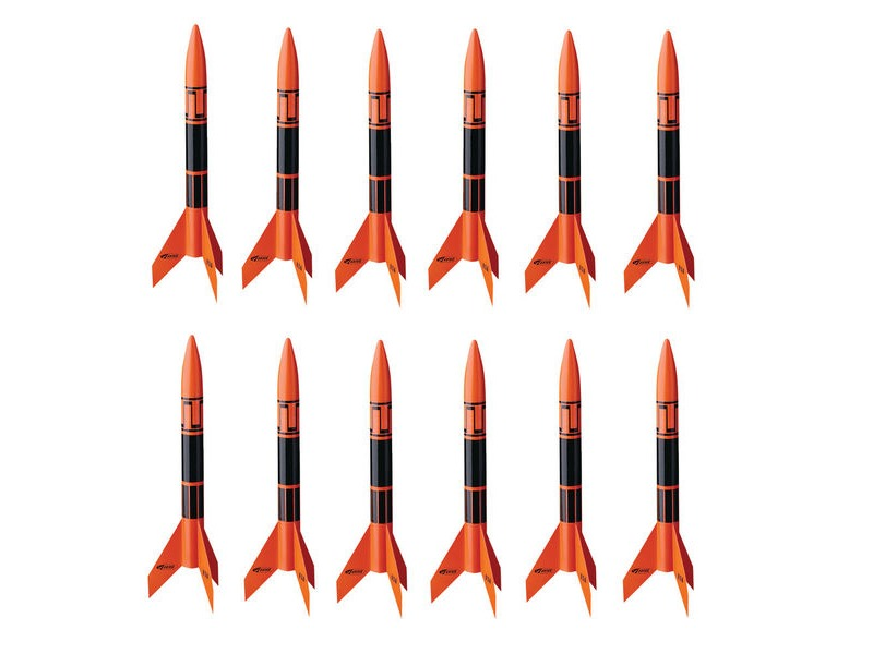 ESTES Alpha III (Pack of 12) E2X click to zoom image