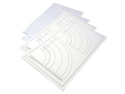 ESTES Laser Cut Centering Rings and Paper Adapters (4 pc)