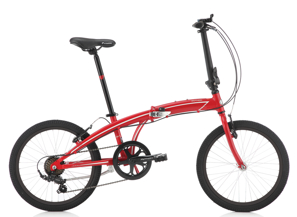 PYTHON BIKES F1 Folding Bike 2018 | £269 95 | Bikes | Folding Bike