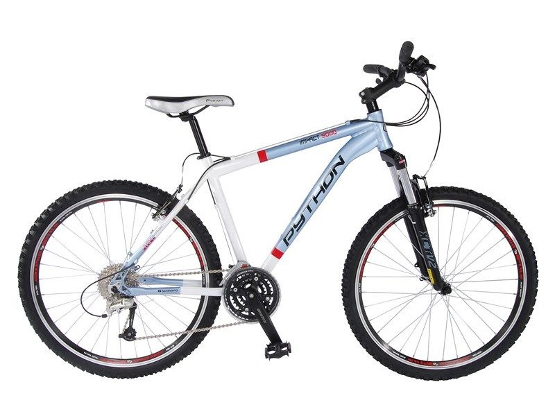 "PYTHON BIKES 22"" IMPACT 9000 27SP DEORE click to zoom image"