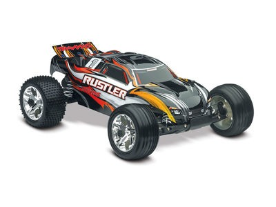 TRAXXAS Rustler XL-5 Brushed  click to zoom image