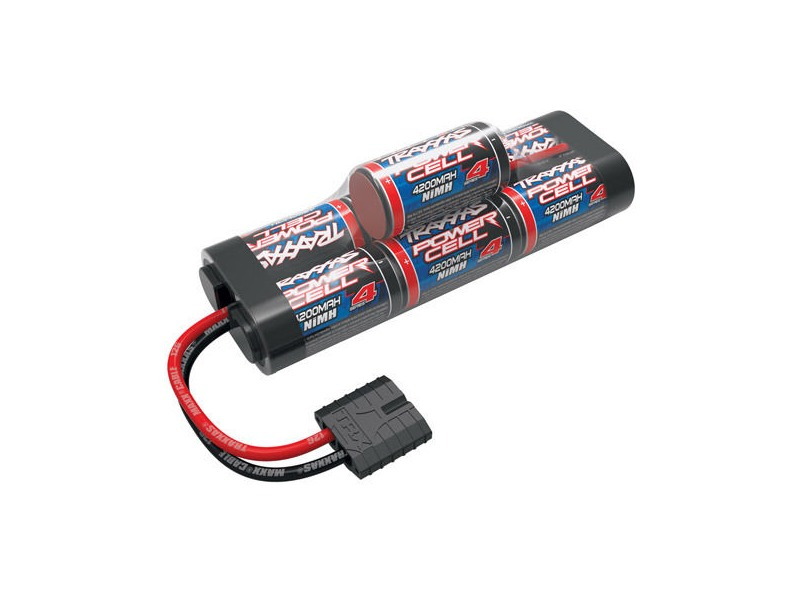 TRAXXAS Battery Series 4 Power Cell ID, 4200mAh (NiMH, 8.4V hump) click to zoom image