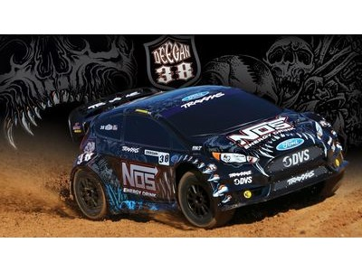 TRAXXAS Ford Fiesta ST 4WD Rally, NOS Deegan 38 (TQ/8.4V/No Charger)