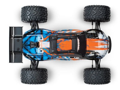 TRAXXAS E-Revo II VXL 4WD TSM (TQi/No Batt or Chg) Length 585mm Orange/Blue  click to zoom image