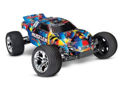 TRAXXAS Rustler XL-5 2WD (TQ/No Batt or Chg)  click to zoom image