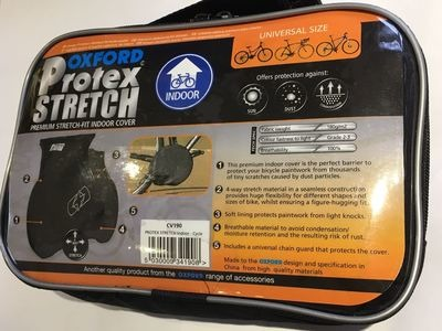 OXFORD PRODUCTS Protex Stretch Indoor Cycle Cover click to zoom image
