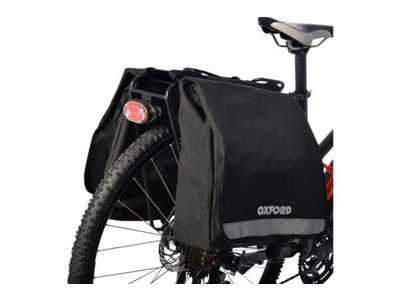 OXFORD PRODUCTS C20 Double Pannier Bags - Black