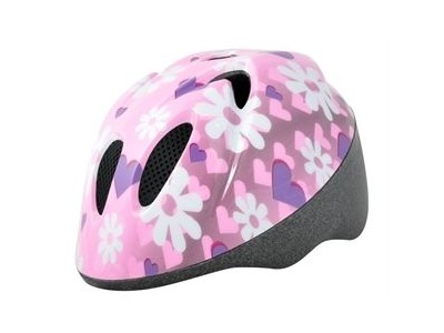 ALPHA PLUS Junior Helmet Flower 44-50cm