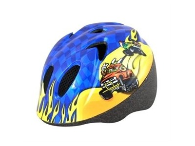 ALPHA PLUS Junior Helmet Monster Truck 44-50cm