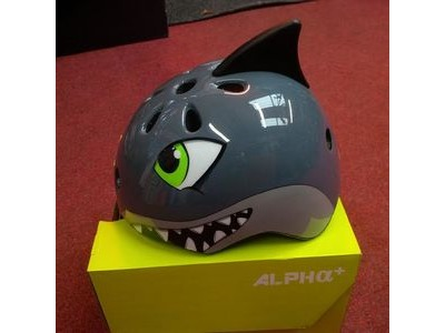 ALPHA PLUS Junior Helmet Shark 50-54cm