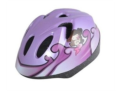 ALPHA PLUS Junior Helmet Mermaid 52-56cm Dial Fit