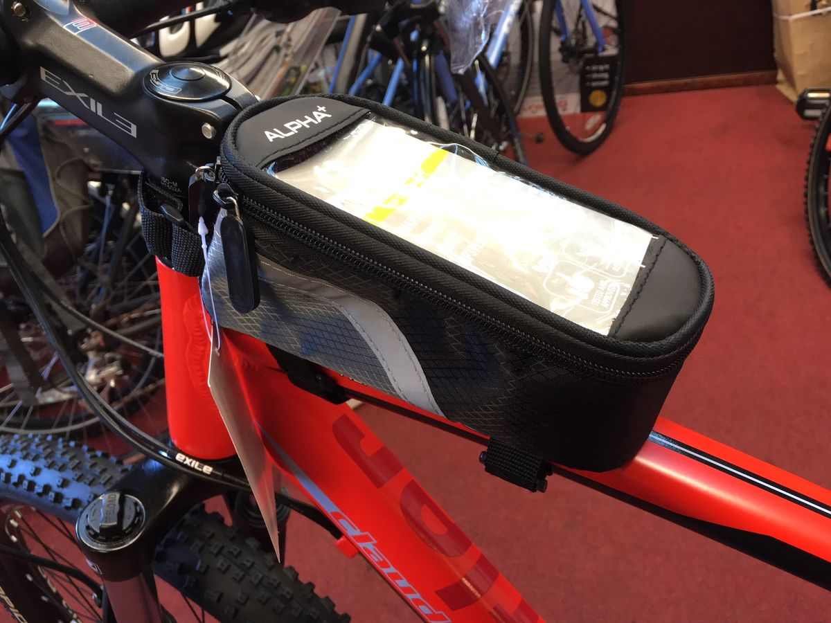 Phone Case and Top Tube Bag Alpha