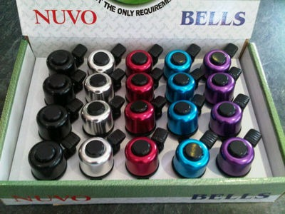 NUVO Mini Alloy Ping Bell 33mm (Colour Option).