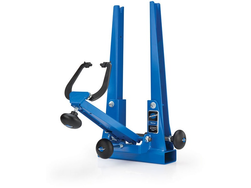PARK TOOL TS-2.2P - Professional Wheel Truing Stand Max Axle Width 175 mm Blue click to zoom image