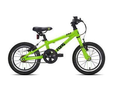 "FROG 40/43 14W Kids Bike 14"" wheel Green  click to zoom image"
