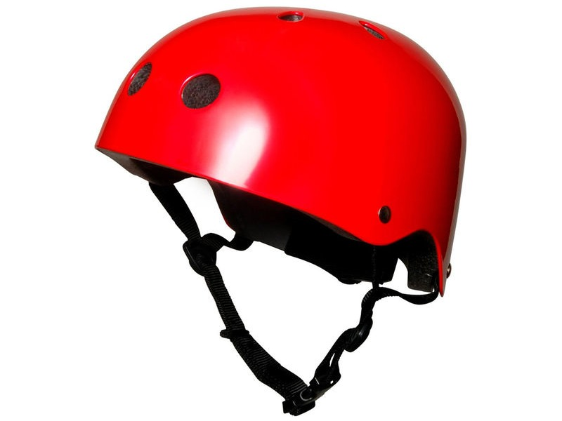 FROG Kiddimoto Metallic Red Helmet (Medium) click to zoom image