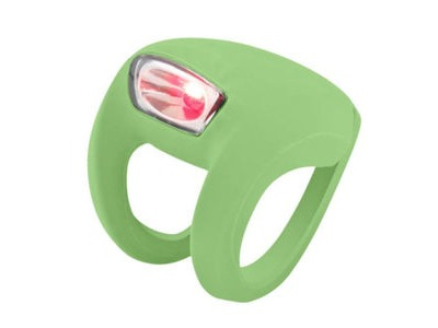 FROG Knog Strobe Light - Rear Red LED  Lime Green  click to zoom image