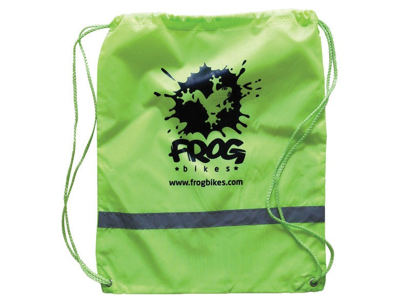 FROG Green Reflective Rucksack click to zoom image