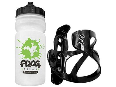 FROG Water Bottle and Cage  click to zoom image