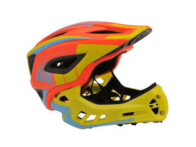 FROG Kiddimoto Full Face Helmet (Orange)