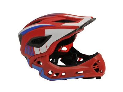 FROG Kiddimoto Full Face Helmet (Red)