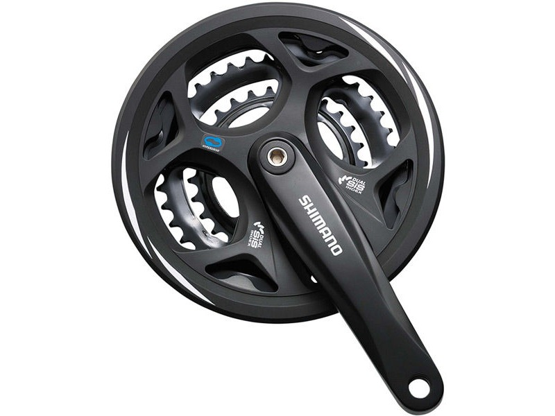 SHIMANO FC-M311 Altus square taper chainset click to zoom image