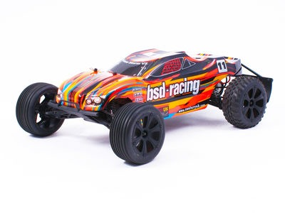 BSD RACING Prime Storm V3 1/10th Truggy RTR 7.2v Ni-MH