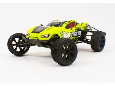 BSD RACING Flux Storm V2 1/10th Truggy RTR 7.4v Li-Po