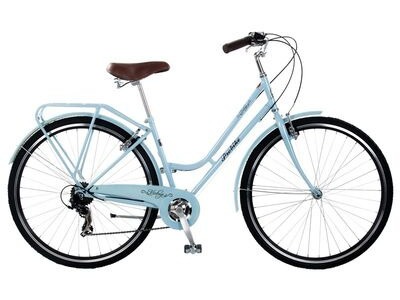 "PROBIKE Vintage Lady 7 Speed (Colour Option). 17"" ice blue  click to zoom image"