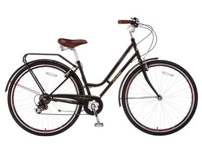 "PROBIKE Vintage Lady 7 Speed (Colour Option). 17"" Black  click to zoom image"