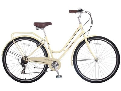 "PROBIKE Vintage Lady 7 Speed (Colour Option). 17"" Cream  click to zoom image"