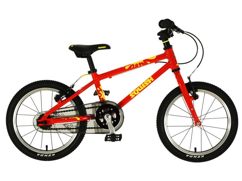 SQUISH BIKES 16 Red/Yellow click to zoom image