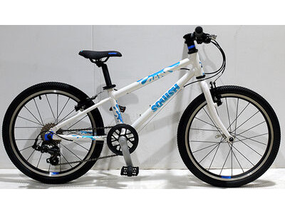 "SQUISH BIKES 20"" White/Blue"