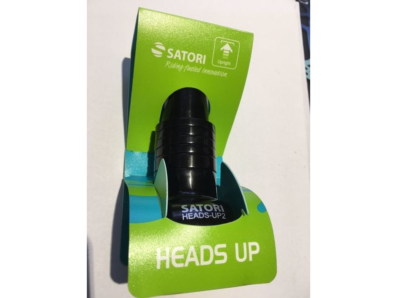 SATORI Heads UP 2 Ahead Handlebar Stem Riser click to zoom image